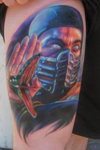 56 Tatuagens Mortal Kombat Mais Tattoo border=
