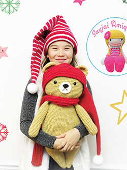 Advertisement: Honey Bear pattern