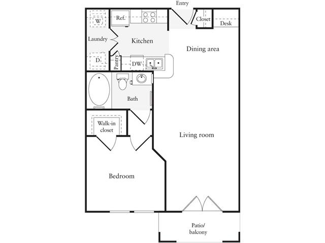 Bedroom ideas one bedroom cabin floor plans inspiration for One bedroom cottage floor plans