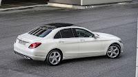 Mercedes-Benz C-Class side top