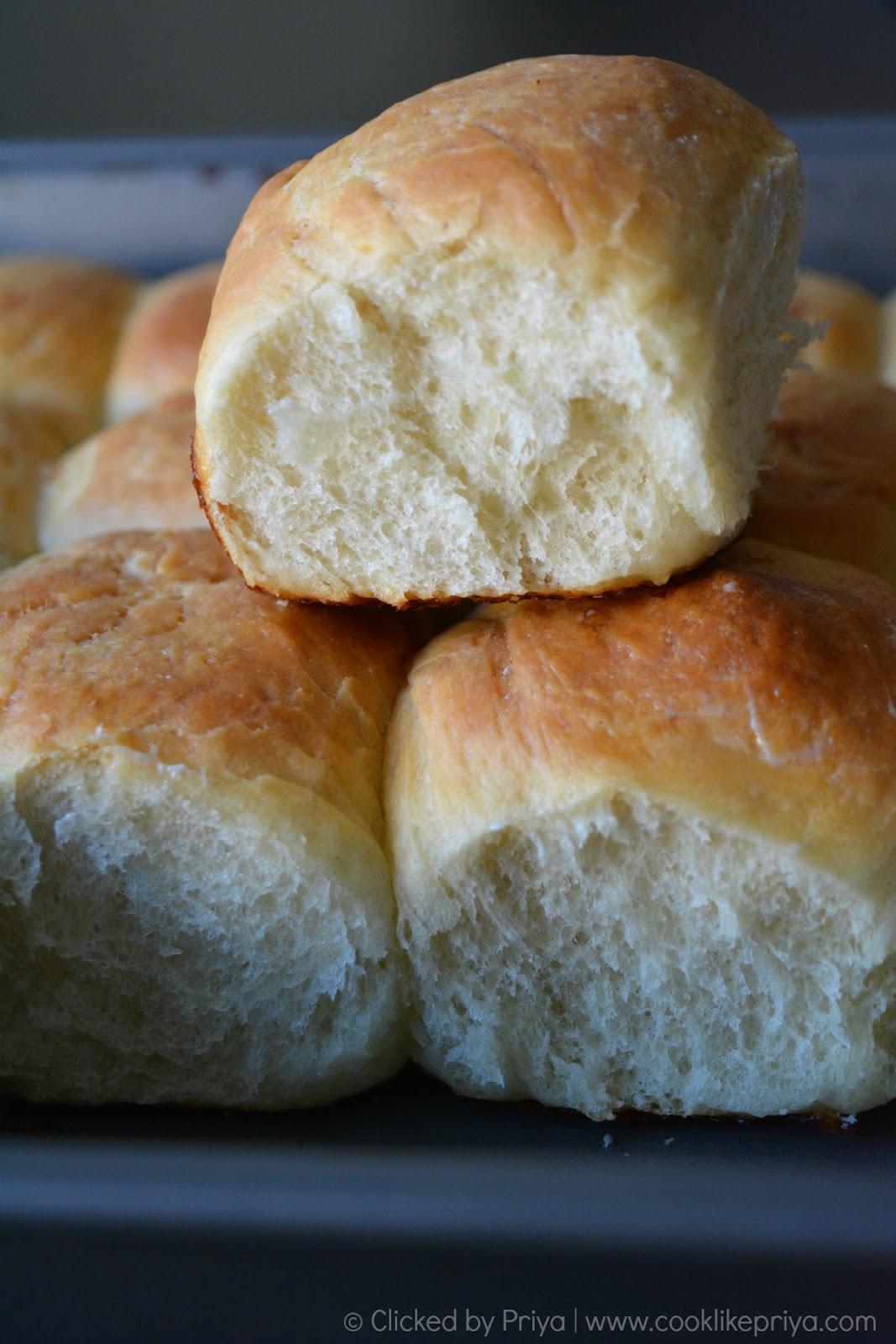 Ladi Pav | Pav Bhaji buns Recipe