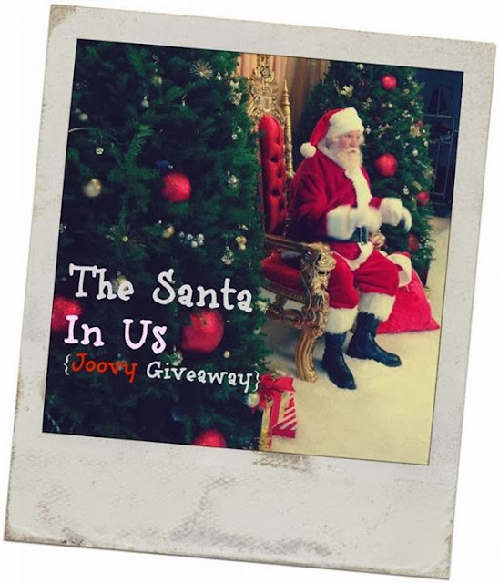Joovy Holiday #Giveaway #SantaInUs