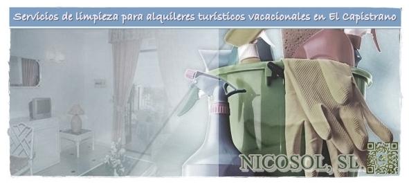 Nicosol, SL. servicios de limpieza para alquileres en El Capistrano Villages®, Nerja, Costa del Sol.