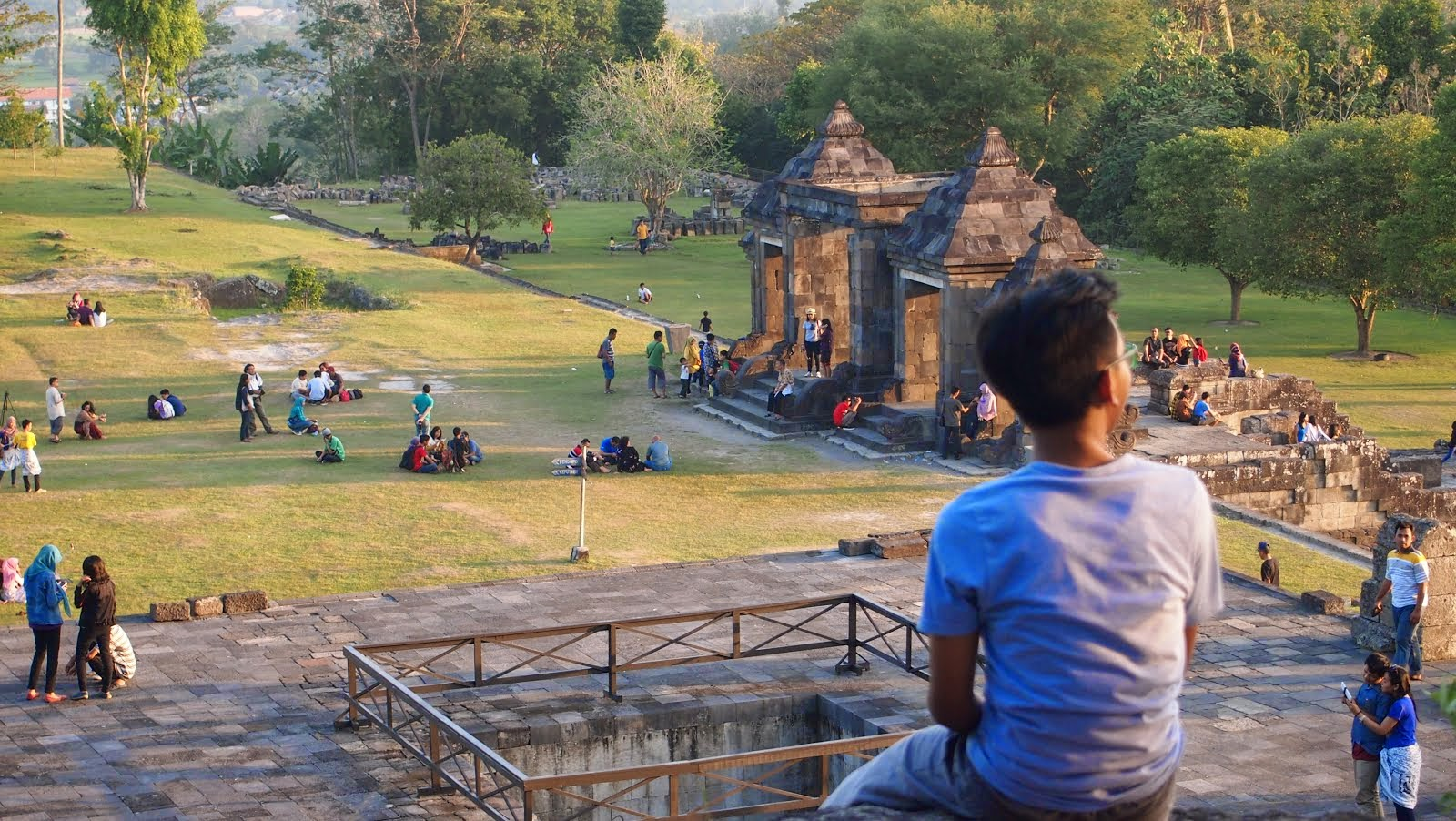 Candi Ratu Boko,Yogyakarta