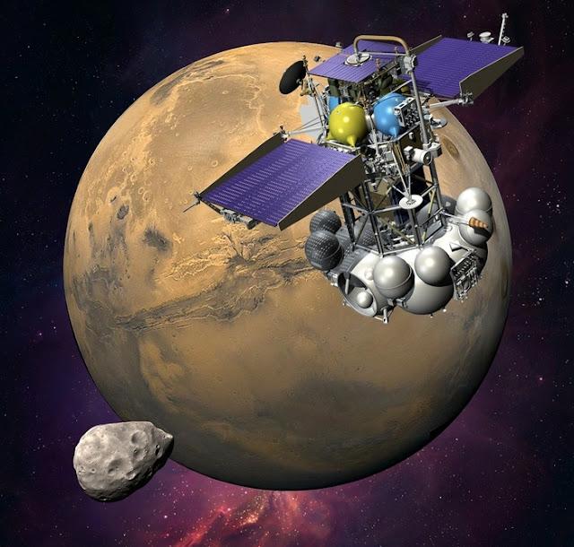 Sonda Phobos-Grunt deveria chegar à Marte