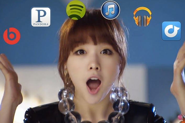 Is streaming music good for Kpop?
