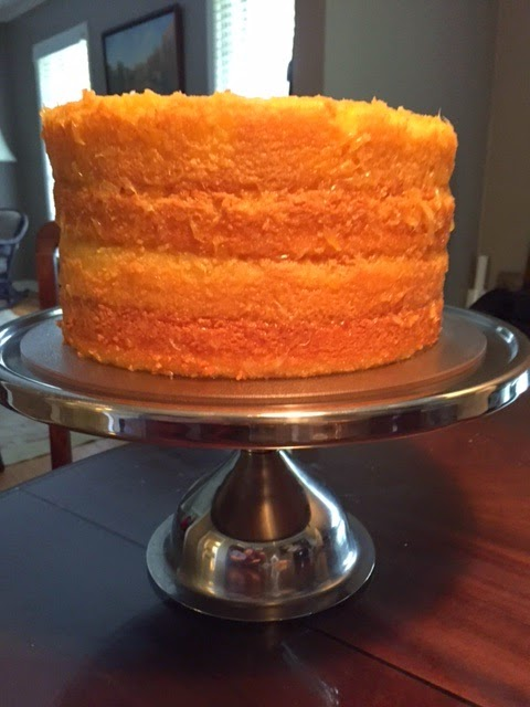 Lemon Layer Cake - General Robert E Lee Cake Recipe — Dishmaps