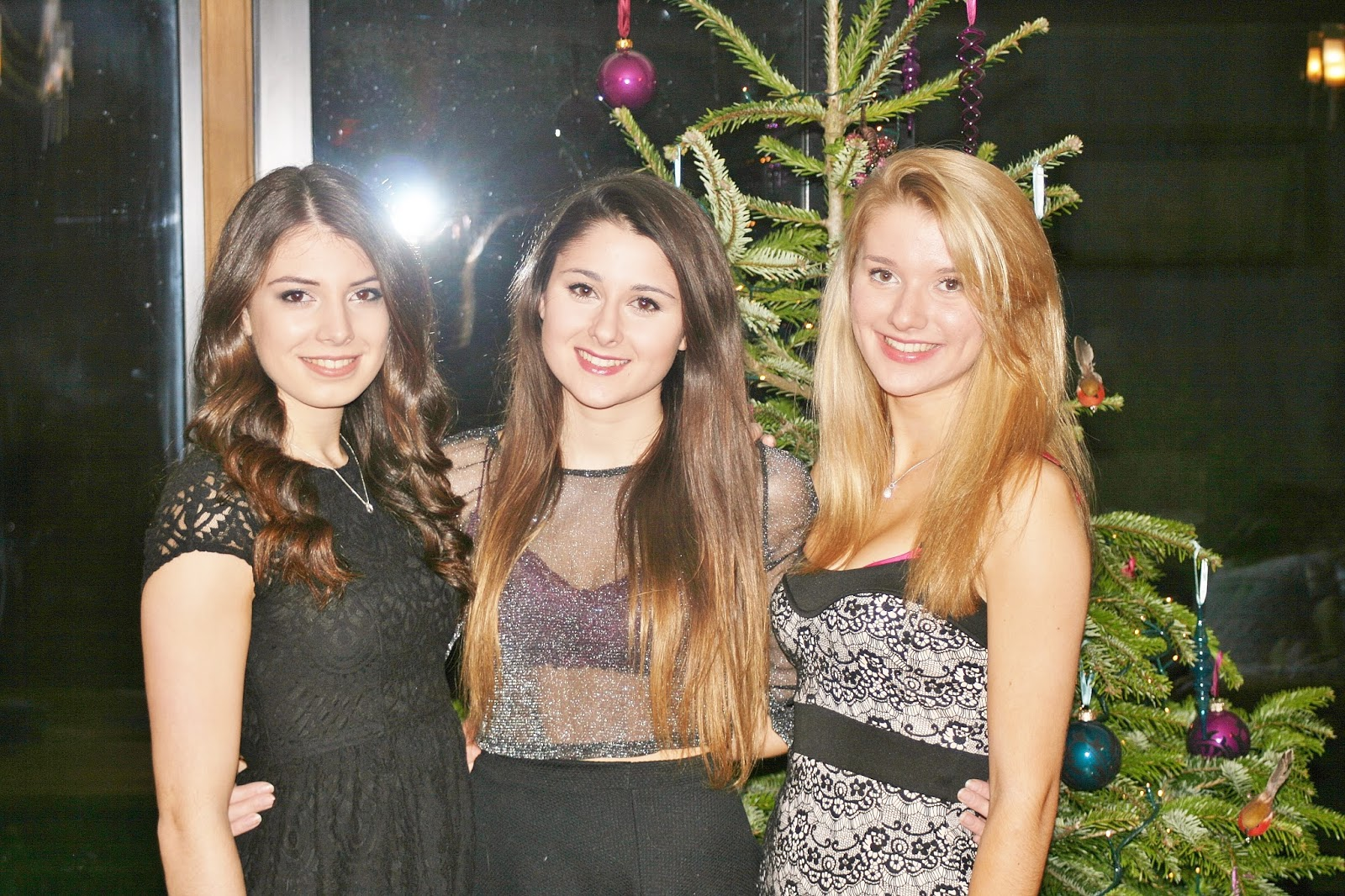 Katherine Penney Chic New Year Eve Party Girls