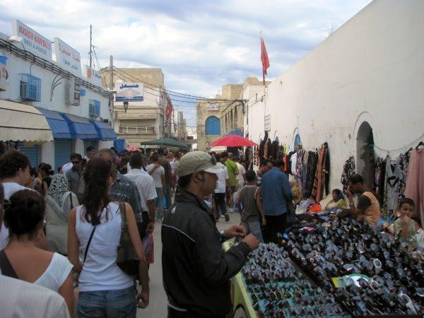 Targ w Tunezji