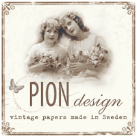 Guest designer for Pion Design November / December 2013