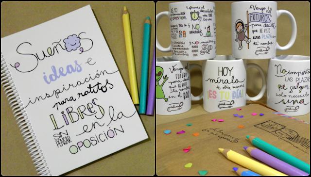 Kit del opositor quiérete mucho regalos bonitos para opositores motivación frases detalles