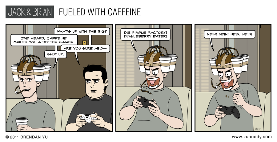 Fueled with Caffeine