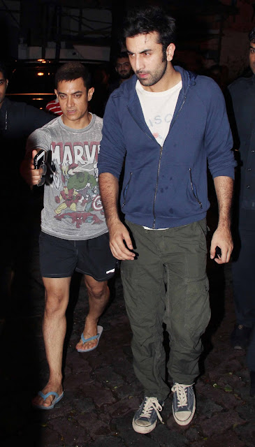 Aamir Khan and Ranbir Kapoor