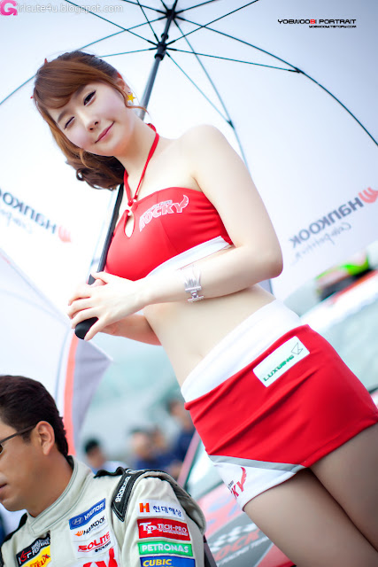 5 Kim Ye Ha - Korea Speed Festival R2 2012-very cute asian girl-girlcute4u.blogspot.com