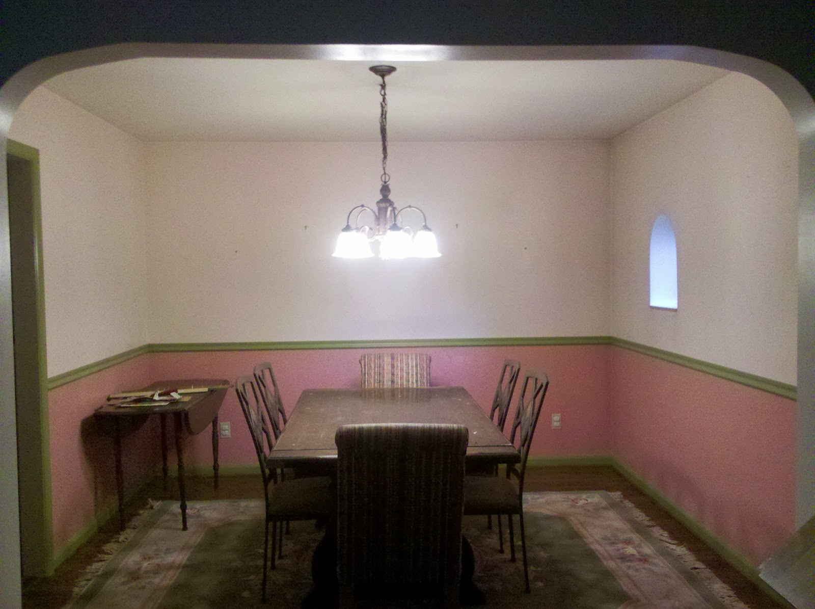 Katy Krafts Now Introducing My Ugly Dining Roomaka