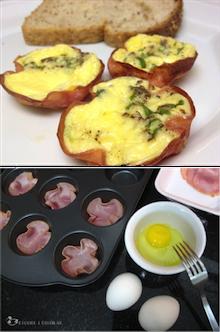 Petisco de lombinho + ovo