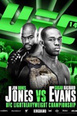 UFC 145 Jones vs Evans (2012)