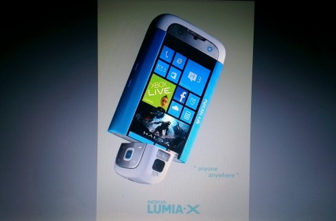 Leaked Picture of Nokia Lumia X