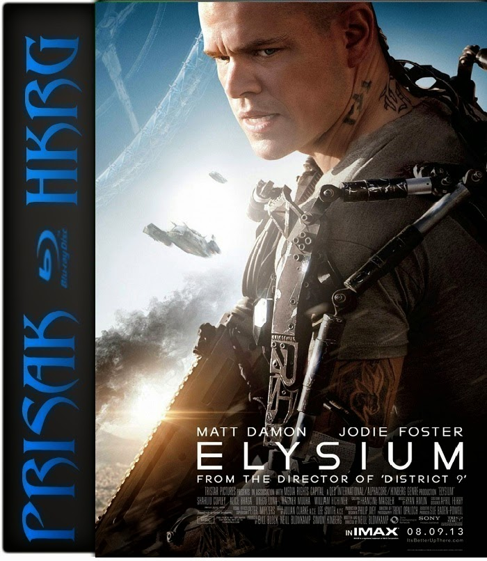Download Elysium in Hindi at Blogspot by i-m-4u.blogspot