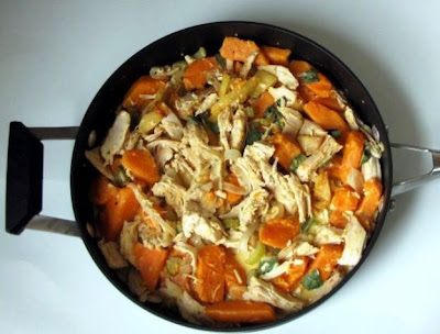 Turkey and Sweet Potato Hash Recipe