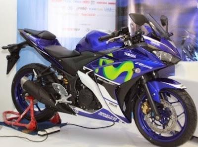 Yamaha R25 dan R15 versi MotoGP Movistar dan Tech 3