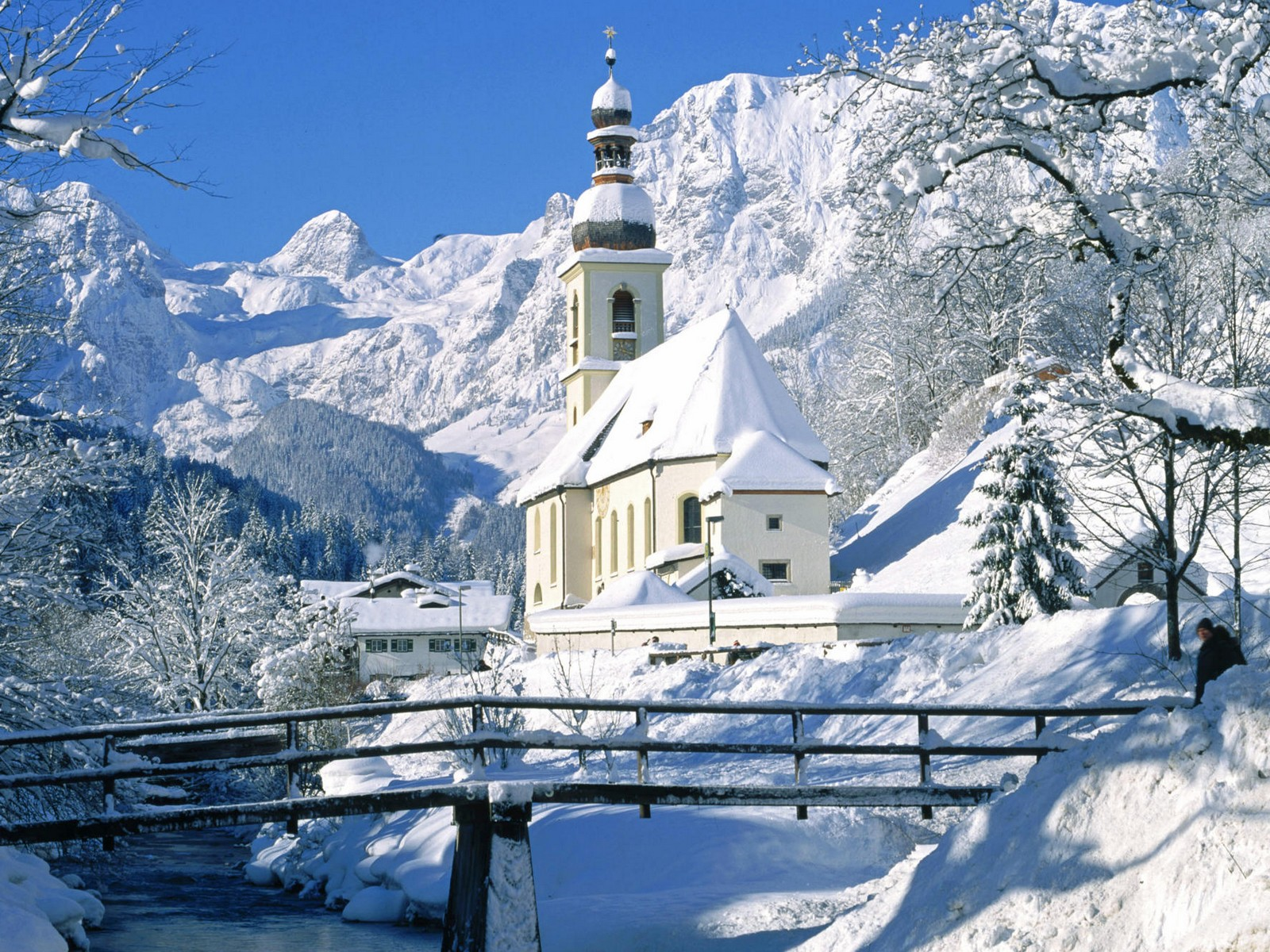 Must see   Wallpaper Home Screen Snow - Church-in-Snow  Pic_236013.jpg