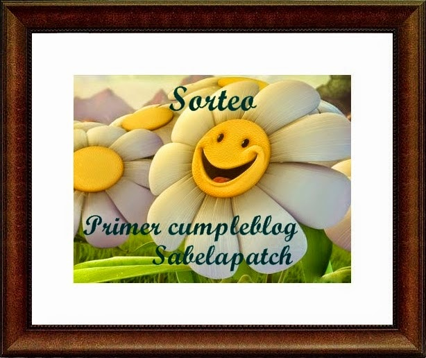Sorteo en, Sabelapatch.blogspot.com