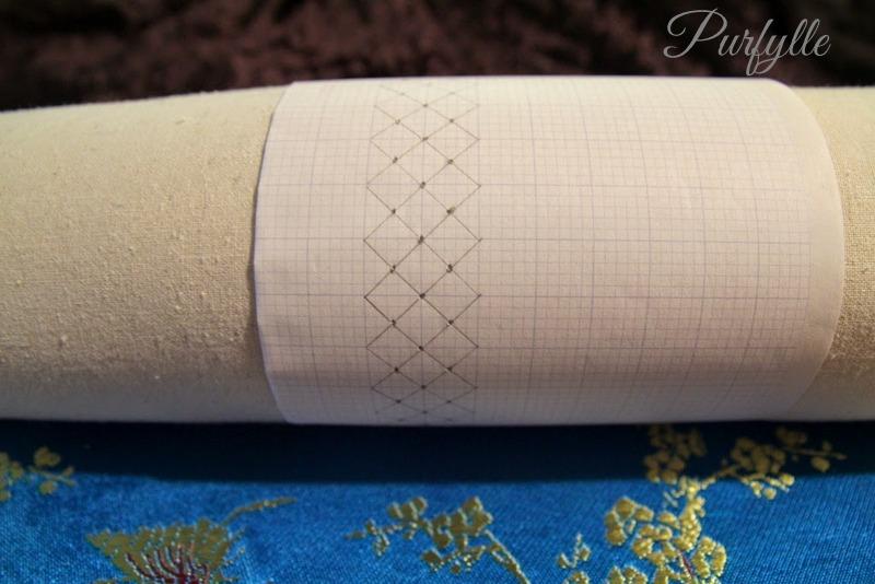 bobbin lace pattern pricking