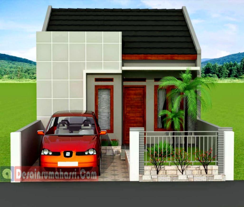 Contoh Desain Rumah Type 3672