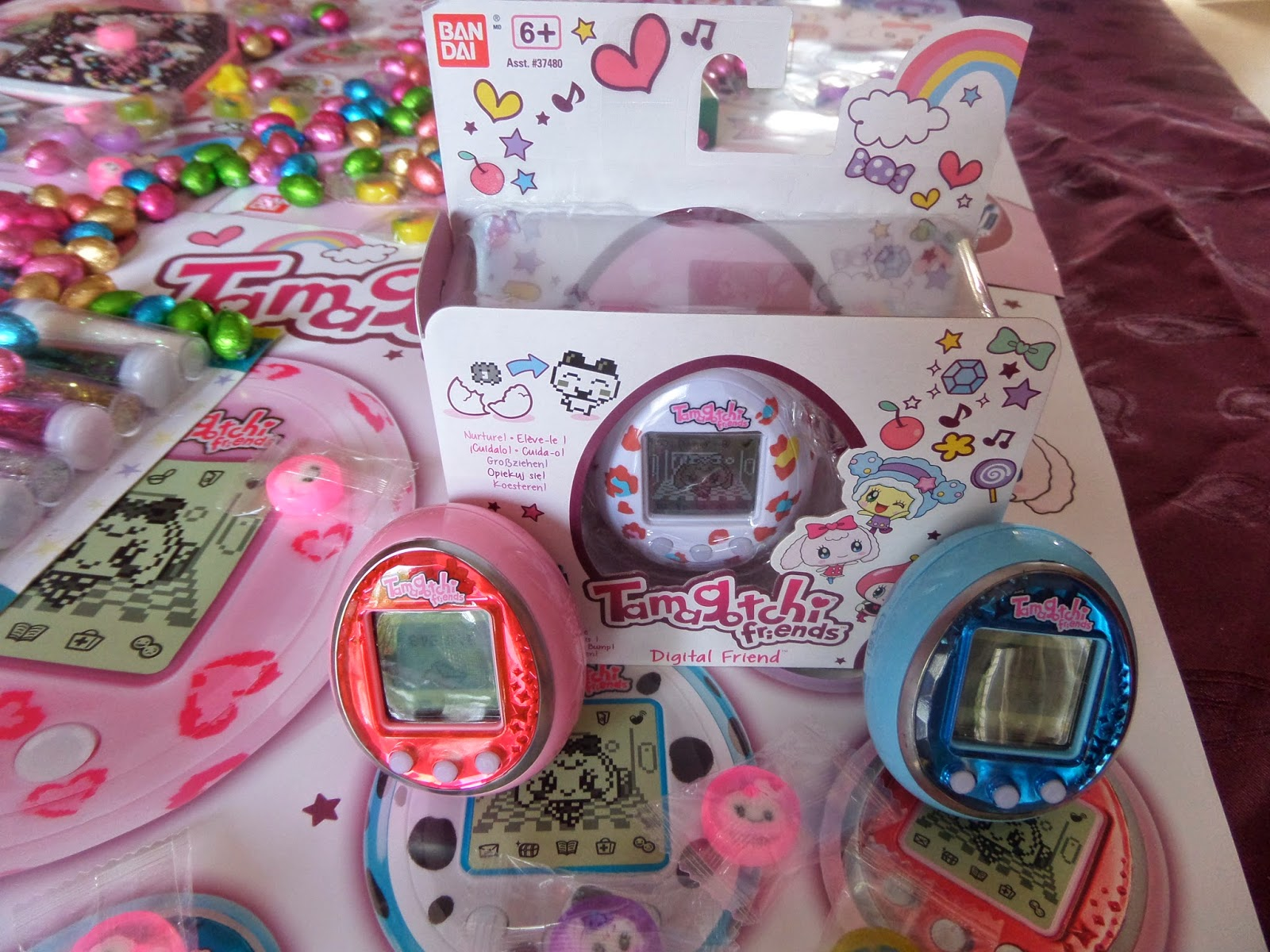 Tamagotchi friends prizes