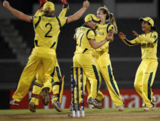 Australia wins women's cricket World Cup 2013