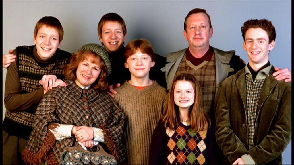 Harry Potter Weasley Family
