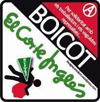 Boicot a El Corte Inglés!