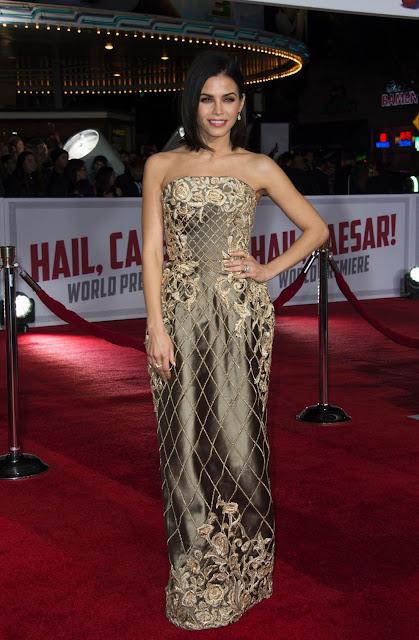 Actress, @ Jenna Dewan -Tatum At 'Hail, Caesar!' Premiere In Westwood