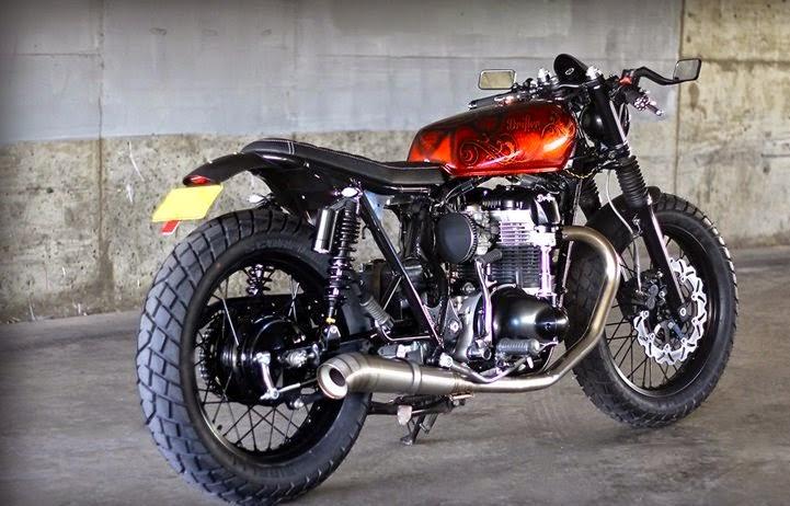 Custom Kawasaki W650 2001 - Drifter Bikes