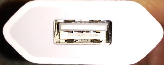 iPhone bu kablo veya Aksesuar onaylı değil