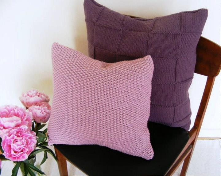 Узоры для вязания подушки