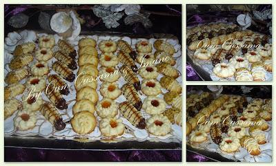 بلاطو حلويات بتي فور بأشكال مختلفة ورائعة بالمراحل المصورة
