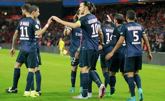 PSG 3 x 0 Guingamp - Campeonato Fracês(Liga 1) 2015/16