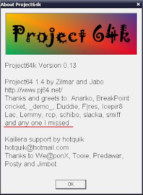 project64k acerca de