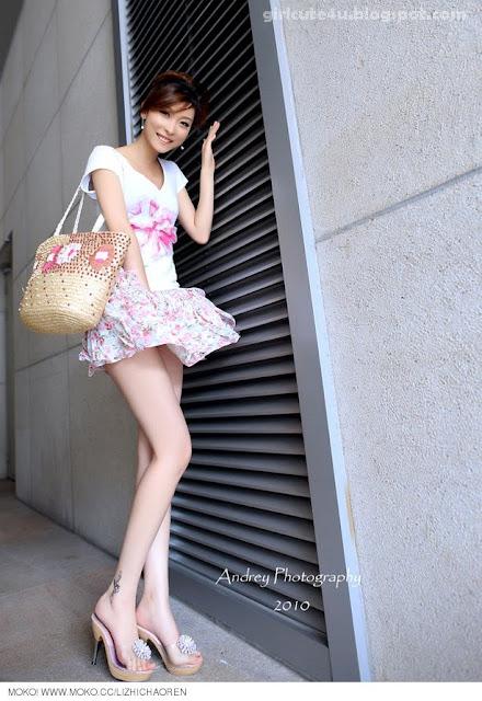Li-Fan-Pink-and-White-05-very cute asian girl-girlcute4u.blogspot.com