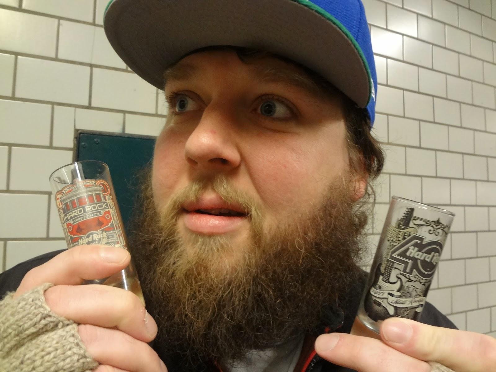 Berlin Ian Drinking Tour of the Berlin U-Bahn