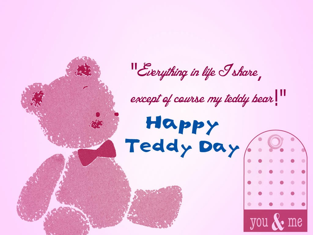Happy teddy day images 2016 with quotes sayings