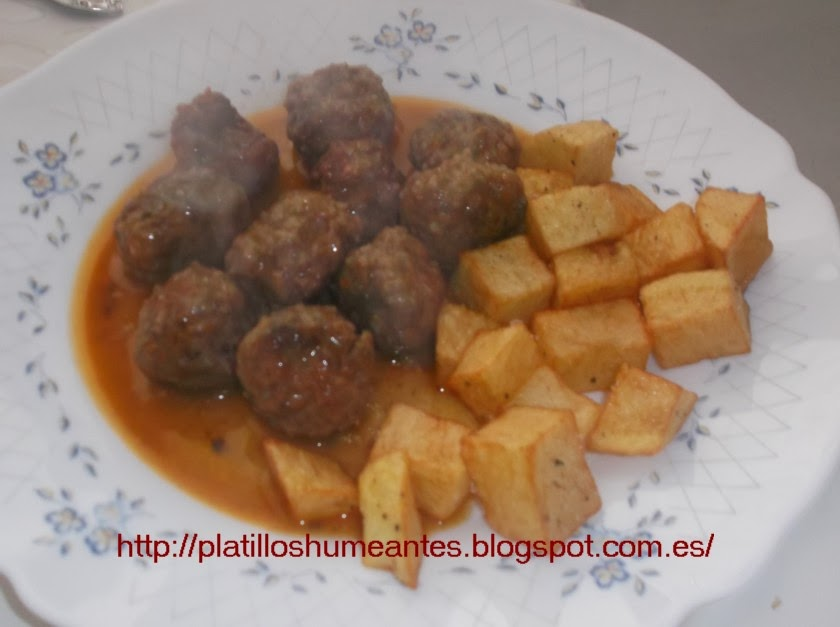 Platillos humeantes alb ndigas tradicionales - Albondigas tradicionales ...