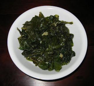 Turnip Greens with Garlic and Mustard