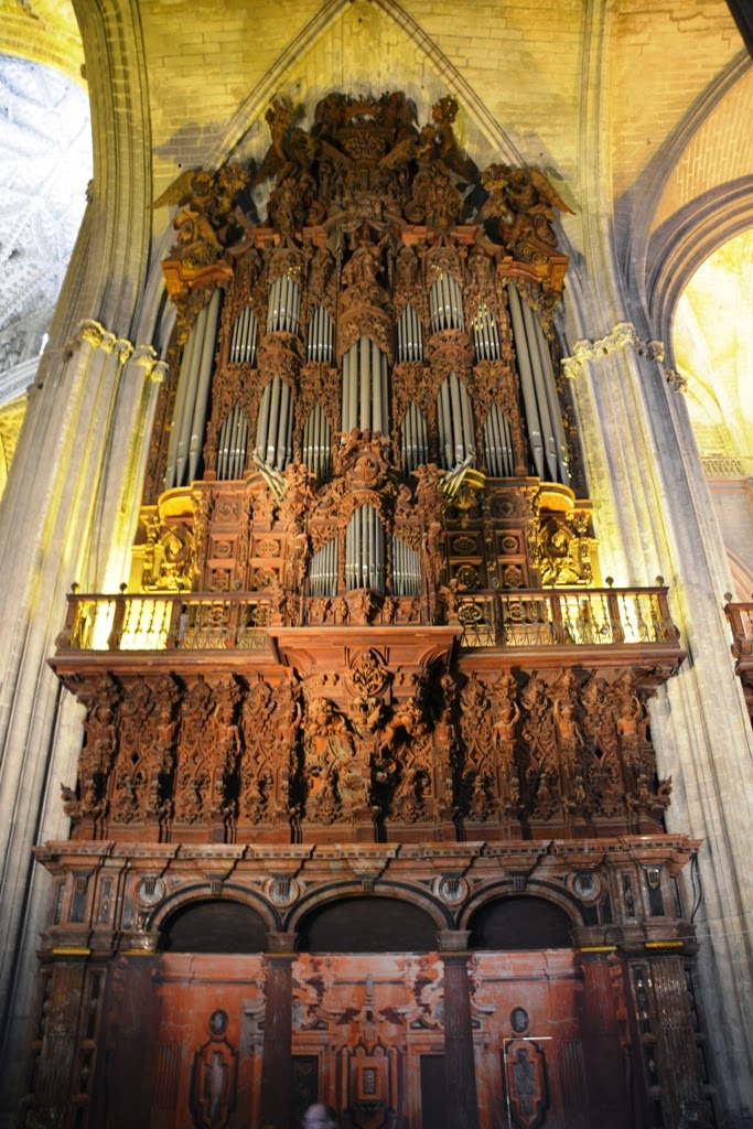 Cathedral of Sevilla organ