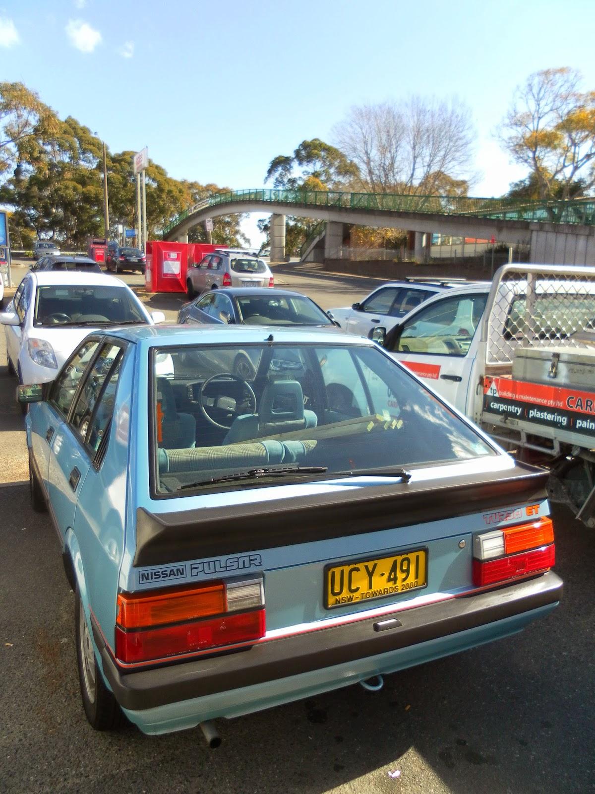 Aussie Old Parked Cars: 1985 Nissan Pulsar ET Turbo (N12)