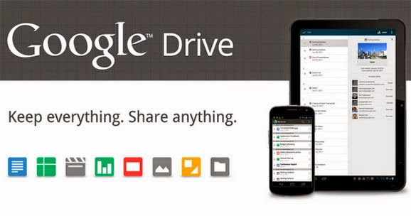 La actualización de Google Drive