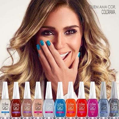 Lançamento esmaltes Colorama Giovana Antonelli blog garota da mamae.com.br