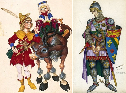 the tales of marriage and love in chaucers the canterbury tales Characterizations in chaucer's the canterbury tales, the wife of bath students  read  explain to students that love and marriage are recurring themes in the.